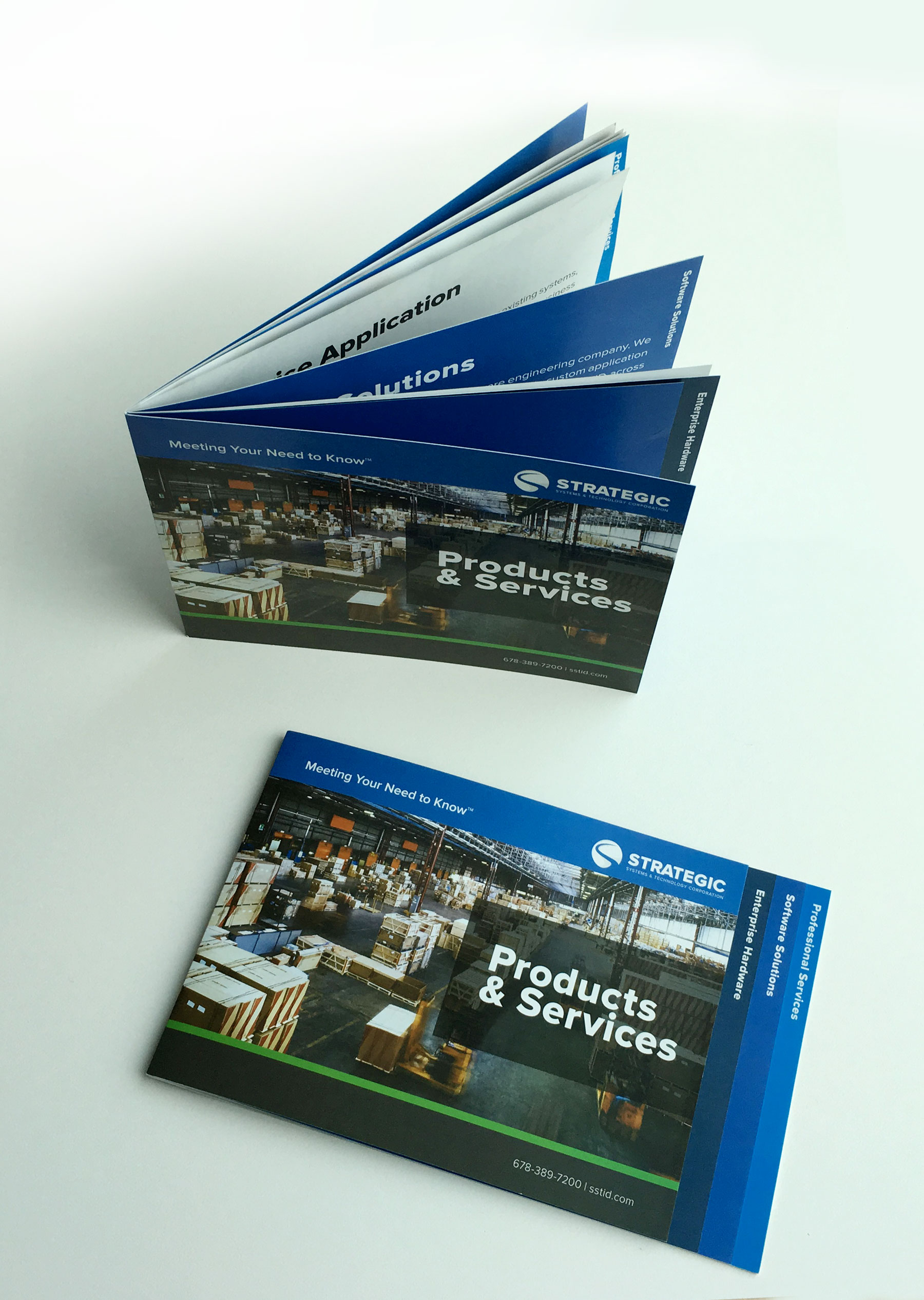 Strategic Product and Services Brochure.